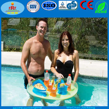 Inflatable Floating Caddy for Snacks and Drinks
