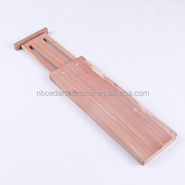 wholesale walmart factory audit good quality wood clothes expandable dresser drawer dividers adjustable drawer cedar dividers