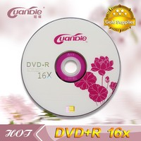 High compatibility dvdr 4.7GB blank dvd in bulk with shrink wrap packing