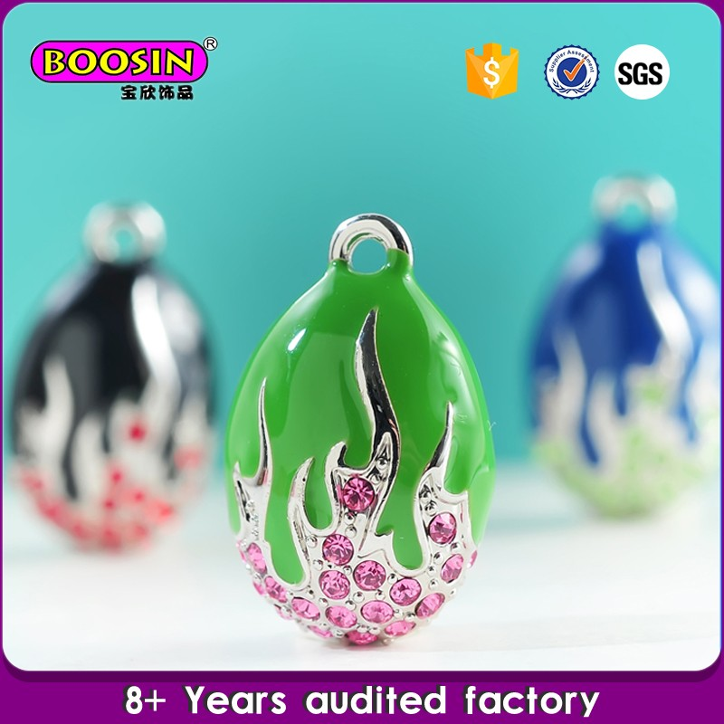 Special design Boosin fashion jewellery easter egg charm