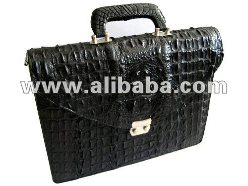 Sell genuine crocodile/alligator briefcase,belts,shoulder bags,bags