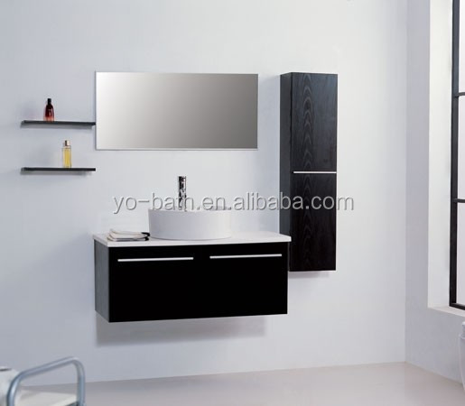 wall mounted storage bathroom vanity