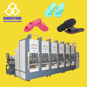 6 Stations EVA Slipper Injection Moulding Machine
