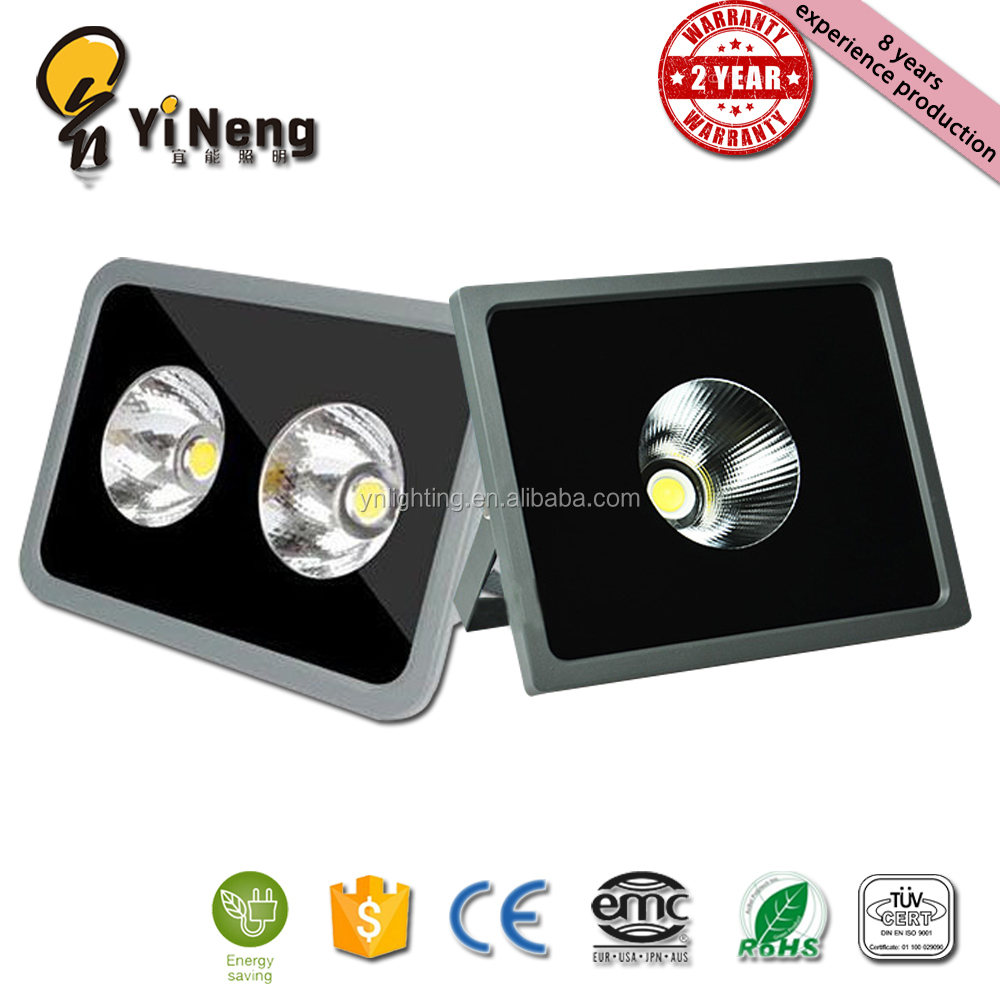 OEM ODM 100LM/<strong>W</strong> COB SMD outdoor IP65 waterproof aluminum 200w led flood light