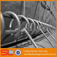 weledemesh wire spring galvanized galfan treatment hesco barriers for a sale