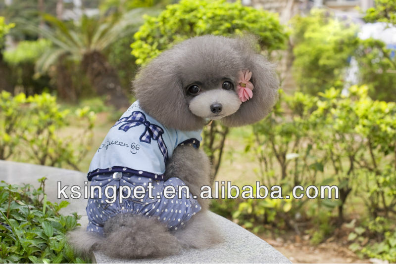 2014 new woven bowknot summer vest for dog clothes