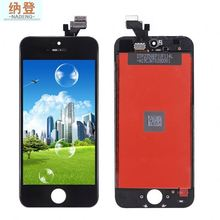 Free shipping OEM for iphone 5 lcd+ digitize