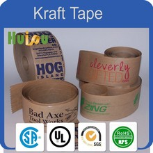 China custom printed kraft packing tape adhesive