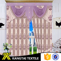 High quality standard wide width linen feeling fanci live room curtain