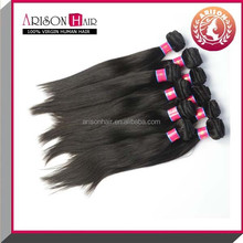 Factory price Grade 7a Silky straight in stock hair weaving brazilian human hair