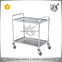 Hot Sale Restaurant Used Stainless Steel Flat Cart