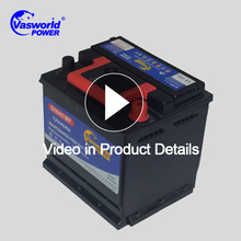 Factory direct sale battery deep cycle car DIN standard dry charged 12v 45ah battery