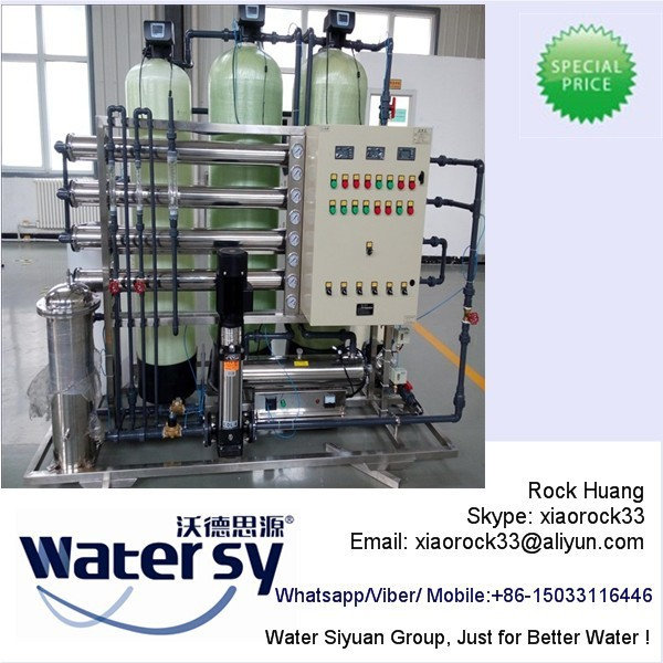 RO Water Desalination Equipment for Salt Borewell Water