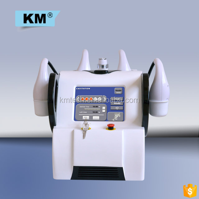 Very obvious result cavitation radio frequency / vacuum bipolar tripolar body slimming machine