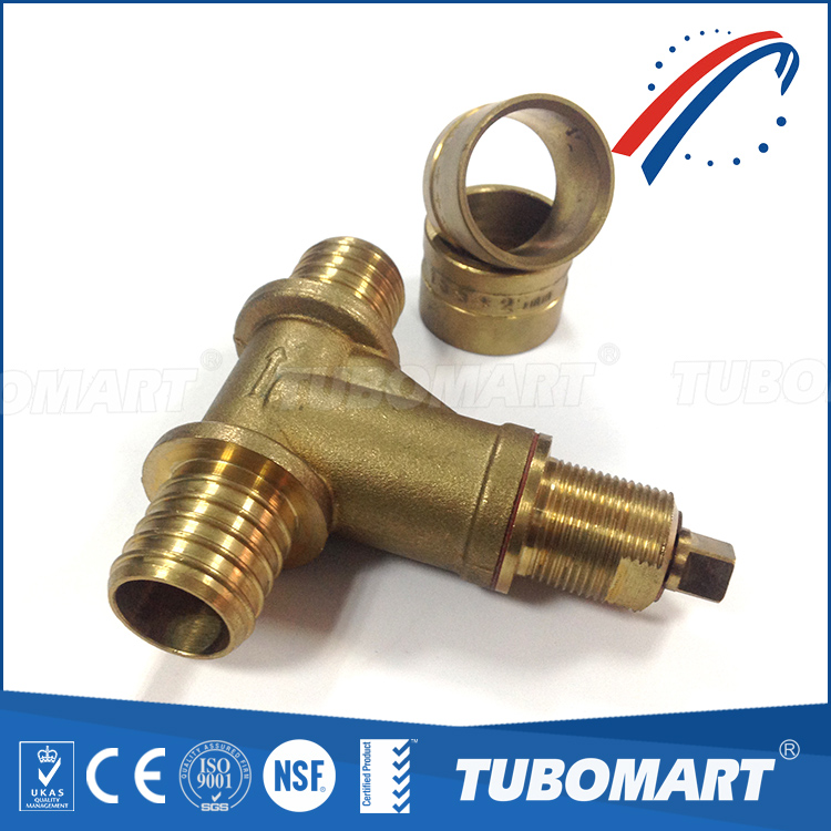 OEM supplier wholesale Water supply pn16 brass stop valve with NSF ISO SGS certificated