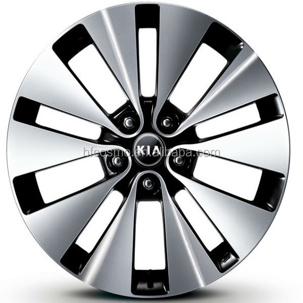 Factory price auto wheels alloy wheel with high precision