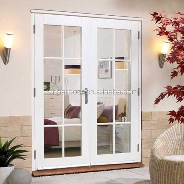 48 inch aluminum contemporary outdoor french doors suppliers