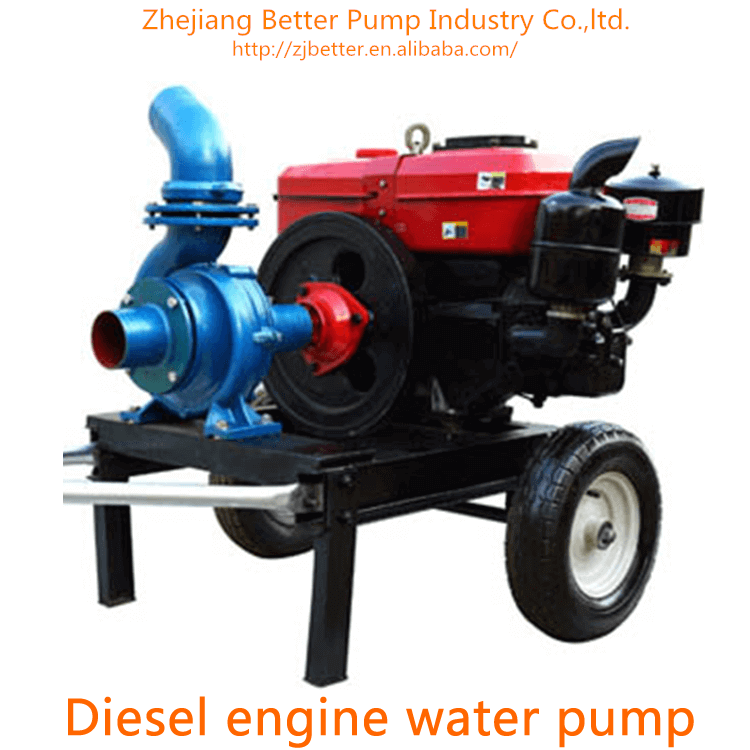 Reliable Strong Cheap Diesel Engine Water Pump Set