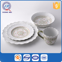 Hot selling cheap exquisite ceramic dinnerware made in china