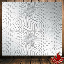 Decorative Design Stainless Steel Hot Pressing Plate (SLM001)