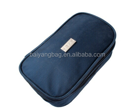Branded cosmetic bag for pomotion