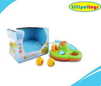 Plastic Toys Slide Shower Combination For Baby Happiness Bath Time