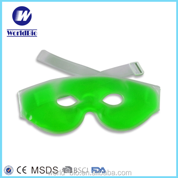 2016 Latest style freezing gel eye masks for fatigue relieving hot and cold pack