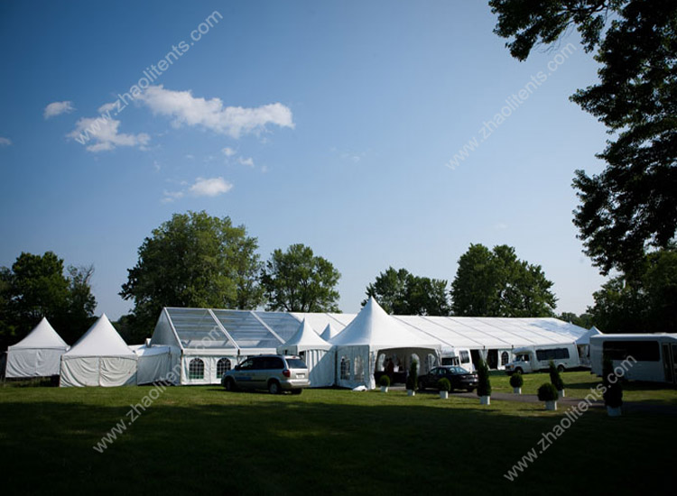 outdoor glass wedding waterproof party tents for sale