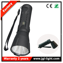 Wholesale price emergency torch light long working time CREE 3W rechargeable led magnetic flashlight Model JG-9915