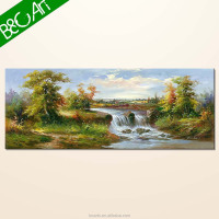 YF(7304) Scenery oil paintings of modern trees