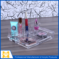 Top quality acrylic makeup/cosmetic Acrylic organizer