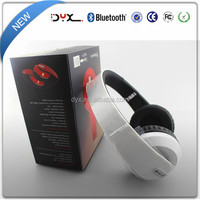Latest wireless headphone with fm radio new developed bluetooth cuffia for wholesale