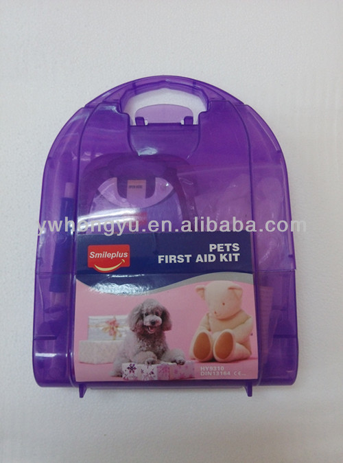Pet primeros auxilios kit desechable de uso veterinario kit