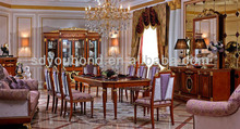 2014 0038 European classic dining room furniture