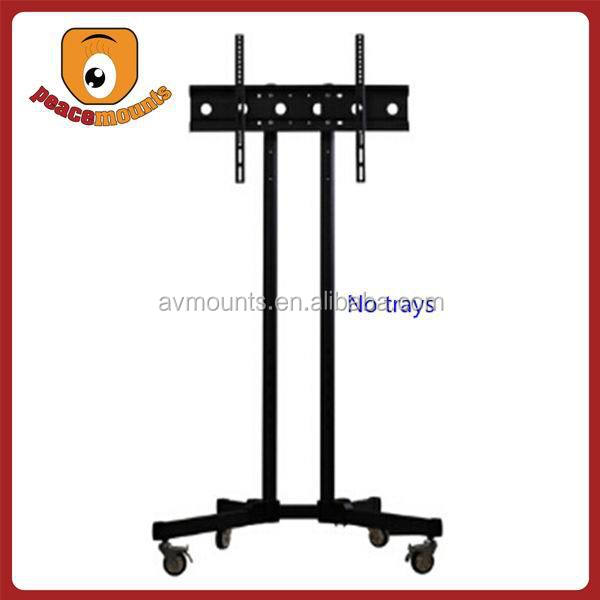 ST-1500 latest design micro adjustable video wall cart stand floor tv stand