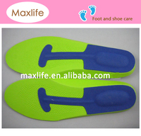 MX704 eva soft foam insole,eva orthotic anatomical insoles for shoes