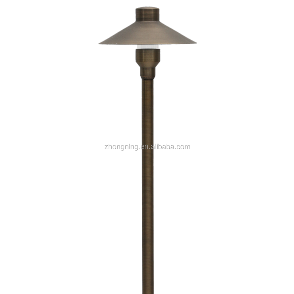 led decorative serial lights outdoor brass light pillar light for outdoor