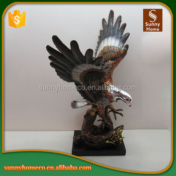 Resin Home Decoration Chinese Gift Resin Eagle Handicraft