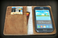 Pure leather cases and covers with card holders