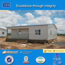Made in China Low cost Prefabricated House plans for Construction Camp