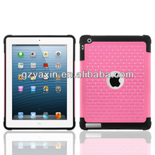 Custom plastic crystal mobile back cover for ipad 2