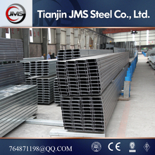 Q235 steel slotted c channel price per ton