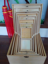 Hot-sale handmade customized solid wood storage box
