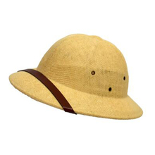 Straw Safari Pith Helmet Hat