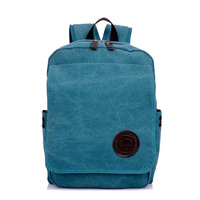 Hot selling vintage canvas 14 inch laptop backpack