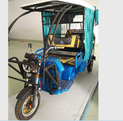 48V 800W S-014 Electric Passenger Rickshaw for indian market passenger tricycle