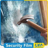 China manufacturer classical clear security safety window film 3m