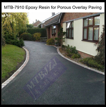 Epoxy Resin for Porous Overlay Paving