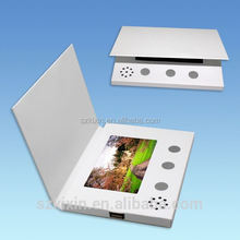 "2.4"" LCD video mailer for ads,2.4inch video card paper"