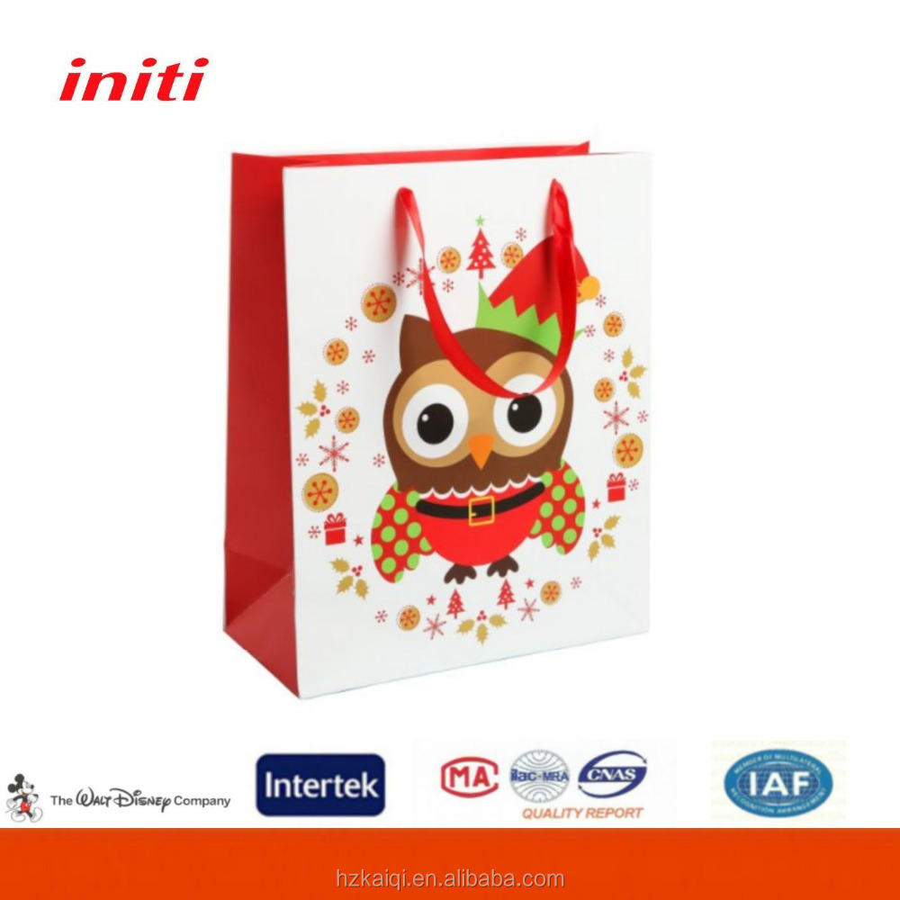 2016 OEM Paper Gift Bag for Shopping